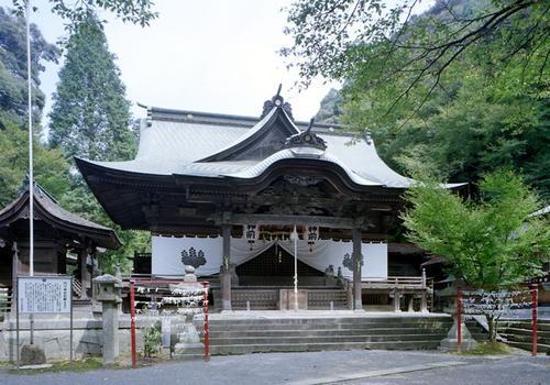 内々神社(社殿、庭園、すみれ塚...